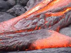 Get immersed in a volcanic landscape with bubbling lava, spewing eruptions, and colliding rivers of fire.