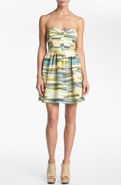 Devlin Strapless Dress   Nordstrom. This dress is 10000000x cuter in person!