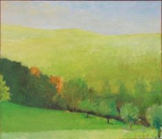 Down to the Apple Orchard by Wolf Kahn