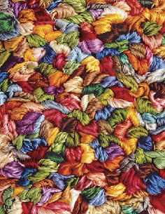 """""""Yards Of Yarn"""" ~ a 1500 piece jigsaw puzzle by Springbok Puzzles. Artist: Ed Young Puzzle Shop, New Puzzle, Puzzle Art, Over The Rainbow, Color Of Life, Puzzle Pieces, Jigsaw Puzzles, Crochet Patterns, Knitting"""