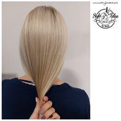 Feine Strähnentechnik Up Styles, Long Hair Styles, Blonde Hair, Hair Makeup, Make Up, Beauty, Yellow Hair, Long Hairstyle, Party Hairstyles