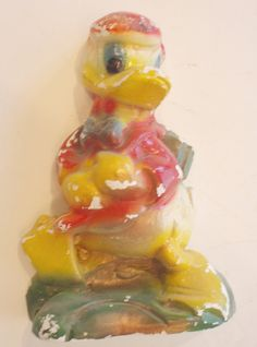 CARNIVAL CHALKWARE DONALD DUCK #6 by ussiwojima, via Flickr