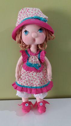 muñeca artesanal de trapo