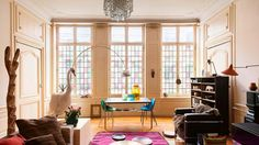 Una casa belga del XVIII llena de diseño (o una de decadencia chic) · A belgian manor filled with design