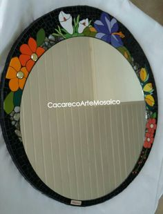 With carving on same style Mirror Mosaic, Mosaic Art, Mosaic Glass, Mosaic Tiles, Stained Glass Designs, Stained Glass Art, Wood Art, Diy And Crafts, Carving