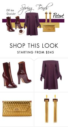 """""""Jewel tones for Spring"""" by jackiecolbridge on Polyvore featuring Valentino, TIBI, Christian Louboutin, Chloé and Blue Nile"""