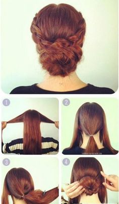 Image result for updos for long hair step by step