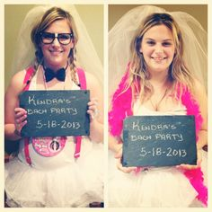 Before and After Bachelorette Party! #bachelorette