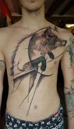 What does wolf tattoo mean? We have wolf tattoo ideas, designs, symbolism and we explain the meaning behind the tattoo.