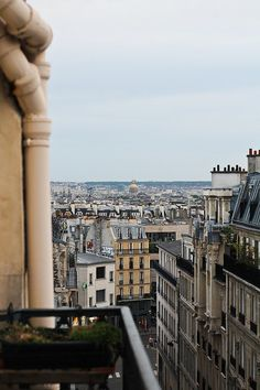 Rooftops of Paris - Lindsey captured the view from my apartment!! :-)