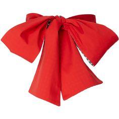 Belt Sash | Moda Operandi (€108) ❤ liked on Polyvore featuring accessories, belts, red, bows, tops, sash belt, red belt, red sash belt, reversible belt and red bow belt
