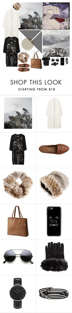 Winter in the Soul by mariettamyan on Polyvore featuring мода, STELLA McCARTNEY, MANGO, SOREL, Daniel Wellington, Alor and Casetify