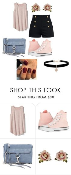 """#62"" by vivien-blanco on Polyvore featuring interior, interiors, interior design, dom, home decor, interior decorating, Gap, Converse, Rebecca Minkoff i Les Néréides"