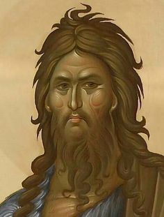 St John the Baptist Byzantine Icons, Byzantine Art, Religious Icons, Religious Art, Greek Icons, Roman Church, Paint Icon, Jean Baptiste, Biblical Art