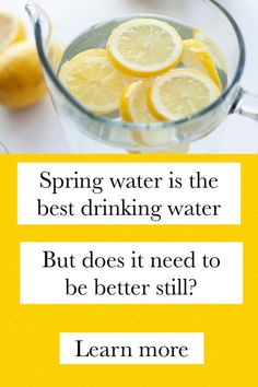 What To Do About Your Spring Drinking Water Contaminated With Arsenic Alternative Health, Alternative Medicine, Countertop Water Filter, Morning Water, Water For Health, Ways To Be Healthier, Natural Spring Water, Weight Loss Water, Summer Barbecue