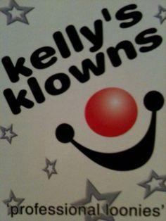 Kelly's Klowns logo www.kellysklowns.com