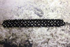 Tatting lace bracelet pdf pattern The Starry Night от TheKimAndI