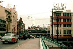 Jones Bridge, Manila. Circa 1950 Manila, Thing 1, Bridge, Travel Planner, Natural Disasters, Vintage Pictures, Street Photography, Philippines, City Photo