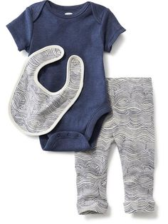 3-Piece Bodysuit Set for Baby Product Image