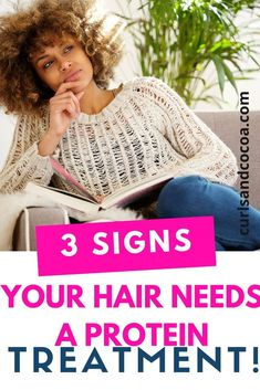 Learn how to restore the balance in your curly hair with a protein treatment for natural hair. Pick up all the tips and tricks here. Natural Hair Growth Tips, Natural Hair Regimen, Long Natural Hair, Natural Hair Styles, Curly Hair Tips, Black Curly Hair, Curly Hair Styles, Afro Hair Inspiration, Black Hair Growth