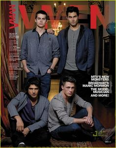 Teen Wolf... I just can't, even though this picture doesn't even do them justice, too much for one show!
