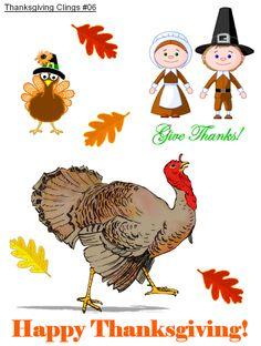 http://www.kidscraps.com/Decorations/Tgiving/Clings/thanksgivingclings.htm