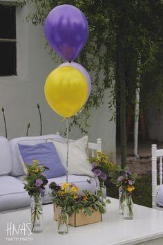 ambientación, cumpleaños infantil de nena, arreglos de flores, globos, picnic  decor, birthday, flowers, balloons