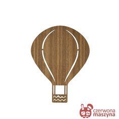 Lampa ferm LIVING Air Balloon, naturalne drewno - CzerwonaMaszyna.pl