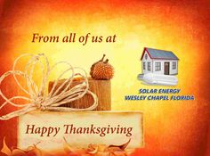 Happy Thanksgiving - http://solarenergycarrollwood.info/solar-energy/happy-thanksgiving/