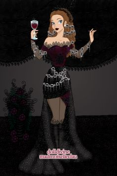 A Little Darkness by SweetBlueMint3 ~ Disney Dress Up