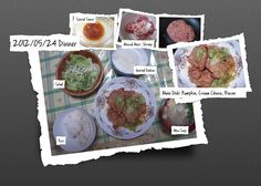 For Dinner on 24/May/2012