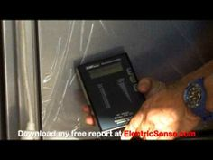 VIDEO: Smart Appliances - Radiation (RF EMFs) from a new refrigerator? Why yes, yes indeed.