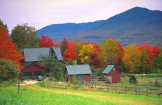 Green Mountains, Vermont... one of the best fall foliage drives in New England