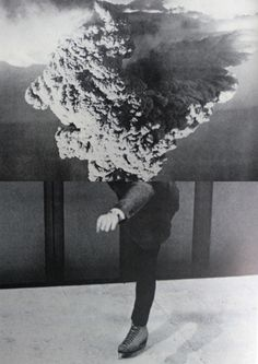 """Collage: """"A Series Of Vibrations"""" by Ventral Is Golden Magritte, Photomontage, Apocalypse, Gabriel, At Least, Art Photography, Illustration Art, Photoshop, Scene"""