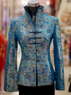 Silk Brocade Jacket