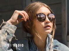 Gigi Hadid Vogue Eyewear 2017, рекламная кампания Vogue Eyewear 2017