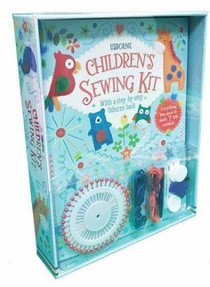 New Release - Children's Sewing Kit Suggested age: 7 and up  https://shop.bydesign.com/UsborneBooksAndMore/#/shop/detail/538033/from/Y4963   The kit contains everything you need to sew, stuff and finish seven delightful felt animals. The 32-page Usborne sewing book included tells you everything you need to know, with simple, step-by-step instructions.