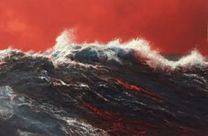 """huariqueje: """"Laze II - William Thompson , American, b. oil on canvas, 7 x 12 in. Red Aesthetic, Character Aesthetic, Aesthetic Pictures, A Silent Voice, Aesthetic Backgrounds, Dragon Age, The Last Airbender, Find Image, Oil On Canvas"""