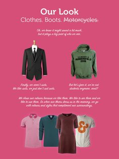 Our branding - Hmmm... what to wear...