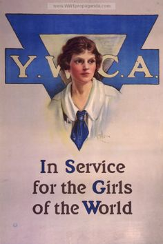 WWI-YWCA service poster