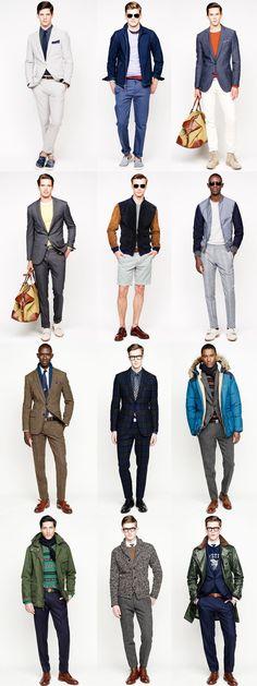 J. Crew Menswear Lookbooks