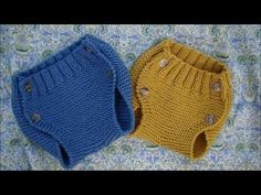RANITA- BRAGUITA DE BEBÉ- DIAPER COVER ESPAÑOL-ENGLISH PATTERN - YouTube