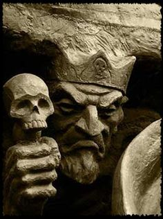 Crnobog - Crnobog, or Чернобог as his very name shows, is Slavic black god – god of darkness and winter deity. Slavs believed that cold, famine, poverty, illness originated from this god.