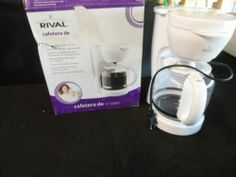 COFFEE MAKER, 12 CUP.RIVAL. NEW