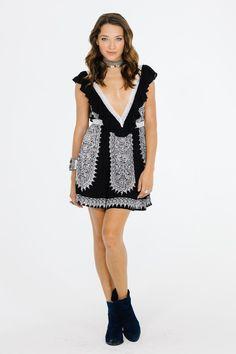Ventura Ruffle Short Dress