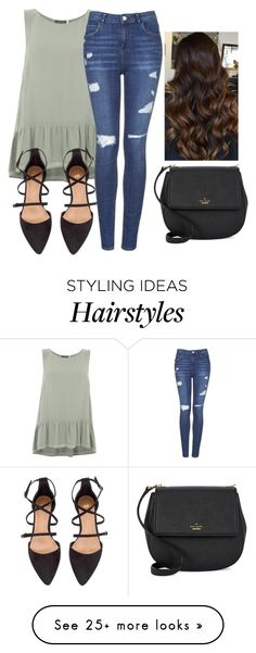 """Untitled #6356"" by hannahmcpherson12 on Polyvore featuring Mint Velvet, Topshop, H&M and Kate Spade"