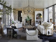 Gabby living room Family Room Great Room Living Solarium American Coastal Contemporary Cottage Eclectic Farmhouse French Country Mediterranean Modern Rustic Transitional by GABBY