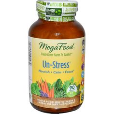 MegaFood, Un-Stress, 90 Tablets  #stress #formula #support #balance #management #iherb #thingstobuy #shopping #relief