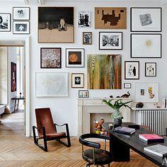#LC7 Swivel armchair #cassina #lecorbusier- Roseland Greene: Paris