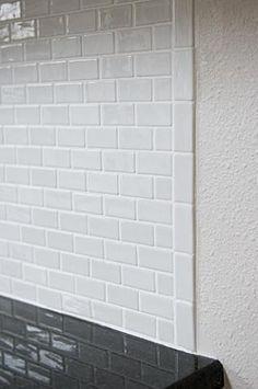 Image result for subway tile border ideas